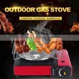 ODM OEM Portable Single Butane Gas Stove Camping Patio Outdoor with red single cylinder gas stove