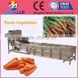 Salable fresh root vegetables washing machine/washer/vegetable cleaner machine in Alibaba
