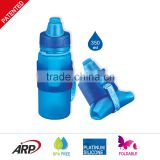 Wholesale BPA Free Folding Water Bottle Collapsible Water Bottle