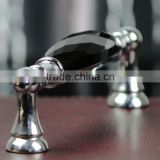 Wholesale fashion cheap Crystal glass Knobs for Cabinet Drawer Pull Handles