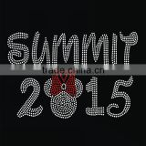 Cartoon SUMMIT 2015 new style hot fix motif heat transfer rhinestone for clothing                                                                                                         Supplier's Choice