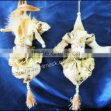 Jinya pastoral home accessories grenadine craft ornaments wedding gift doll hanging feet large onion garlic