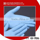 Blue Nitrile examination glove CE ISO FDA                                                                         Quality Choice