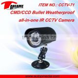 CCTV-71 IR digital color ccd camera ideal for monitoring entrances, hotel, school, shops, etc.
