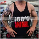 Special Pre-sales custom Gym vests sports wear fitted men bodybuilding singlet made in China