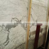 high quality Statuarietto white marble, calacatta black marble/calacatta gold marble, italy white marble slab