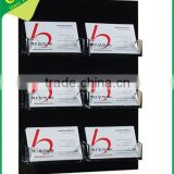 Customized acrylic business card holders fashion/Wholesale PMMA business card display racks