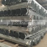 hot dipped galvanized pipe with threaded / thin wall thickness pre galvanized steel pipe / welded carbon galvanized pipe round p