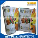 Eco-friendly Plastic Laminated Potato Chips Packaging Material/Snack Food Sachet Packaging Potato Chips Packaging Bag