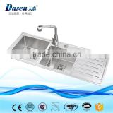 New premium 304 stainless steel double laundry sink trough with wash board                                                                                                         Supplier's Choice