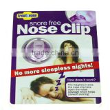 Hotsell breathe right snore free nose clip stop snoring nose clip