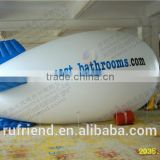 Enduring appeal of advertising inflatable airship / blimp aerial advertising