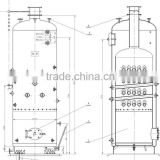 industrial low pressure 0.07mw -7mw central heating boiler