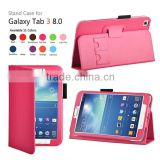 for samsung galaxy tab 3 8.0 book cover case, creative design latest innovative products
