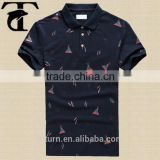 Shopping Online Wholesale Mens 100 Cotton Polo Shirts With Customized Logo And Printing Shirts Man