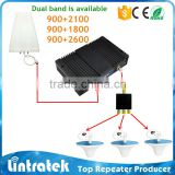 mobile signal booster for dual band 900/1800 for industrial signal booster for telecom mobile signal booster
