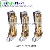Luxury Middle East Style Gold Beads Feet Nail Cutter/ Culticle Clipper