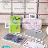 Factory Electric Scale 180kg/396lb LCD ABS plastic part with cheapest price