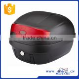 SCL-2013060066 ABS plastic black motorbike trunk motorcycle tail box 40*40*29cm