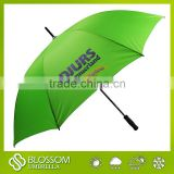 Cheap promotional windproof rain umbrella custom for golf umbrella
