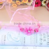 INQUIRY ABOUT Latest style fancy pink girls mantilla veil headband for little girls
