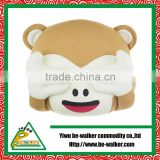 Super Lovely Kids Toy Monkey Head Sleeping Pillow