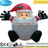 DJ-XT-66 inflatable best made toys christmas santa claus fat chubby hug doll