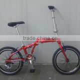 HANGZHOU Cheap aluminum 20 inch folding bike/bicycle by China folding bike manufacturer supply for sale