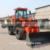 4WD 2.8t weel loader rated load 2800kg overall weight 5800kg