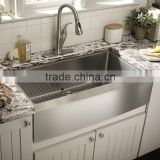 304 stainless steel kitchen sink with front apron for farm house                                                                         Quality Choice