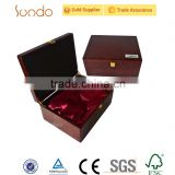 Sale stylish big luxury wooden boxes for headphone