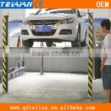 3600KG car garage hydraulic 4 post car parking lift, mechanical car parking system, multilevel car parking solutions