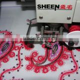 GG758-612+12 mutifunctional coiling mixed type with sequin and flat computerized embroidery machine