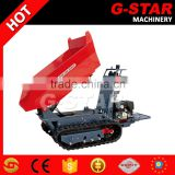 BY800S tracked power wheel barrow electric start power barrow