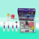 electric brush for wash plates,bottles and pots,electric cleaning brush,electric dish brush