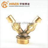 Factory Supply Brass Male Forked Hose Barb Pipe Fitting Gas Pressure Switch