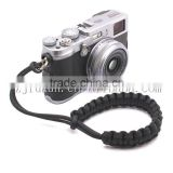 paracord black camera wrist strap for camera outdoor survival paracord camera wrist strap