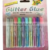 10pc glitter glue set