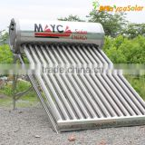 non pressure solar hot water heater with assistant tank                                                                         Quality Choice