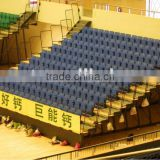 stadium tiered seating system sport facility retractable tribune telescopic seating flex grandstand seating system. portable