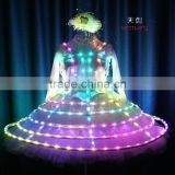Special Girl LED Dress, Tron Act Girl LED Skirt, LED bubble skirt