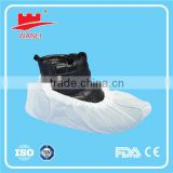 Clean Room Cover Shoe Nonwoven Disposable Shoe Cover With Elastic