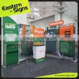 Vivid High Impact 100% Polyester Full Color Modular Outdoor New Arrival Exhibition Booth Wholesale