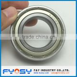 stainless steel deep groove ball bearing RLS11ZZ, RLS11-2RS 34.925X76.2X17.462MM inch deep groove ball bearing