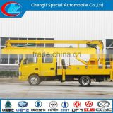 10m 12m 16m high up truck IVECO High Altitude Operation Trucks IVECO 4X2 IVECO tail lift truck manufacturers
