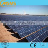 Commercial Industrial Galvanized Steel Solar Ground System PV Mounting Brackets