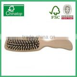 Wooden massage comb, schima superba hairbrush, hotel style, creative gift, beauty, WMC027