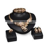 Exclusive Gold Nigerian Beads African Jewelry Set Chunky Statement Jewelry Set For Women