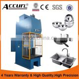 High-speed C-Frames Hydraulic Presses from 400 to 2500 kN for high-rate, deep-drawing processes