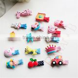 Kids Baby Hair Accessories Acrylic Hair Clips Hairpins For Girls